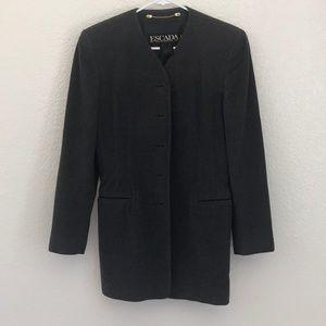 Grey Escada coat jacket